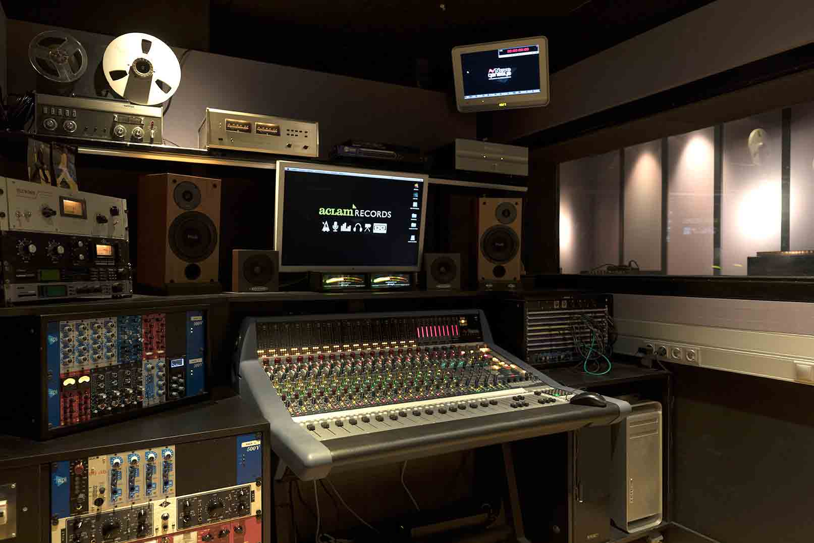 Neve-Genesys-console-aclam-recording-studio-barcelona