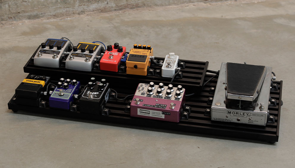 smart track pedalboard wahpper tier aclam