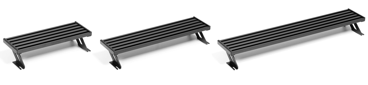 two tier pedalboard custom sizes aclam