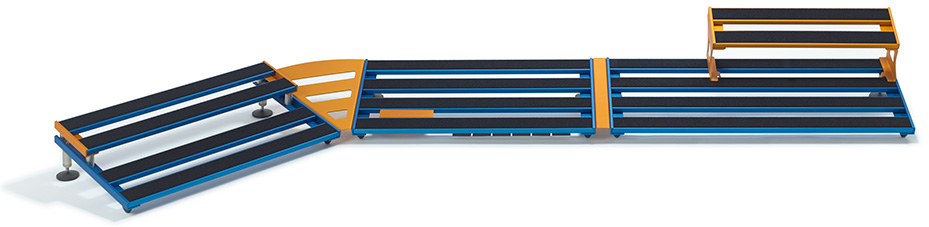 Modular Track pedalboard accessories aclam