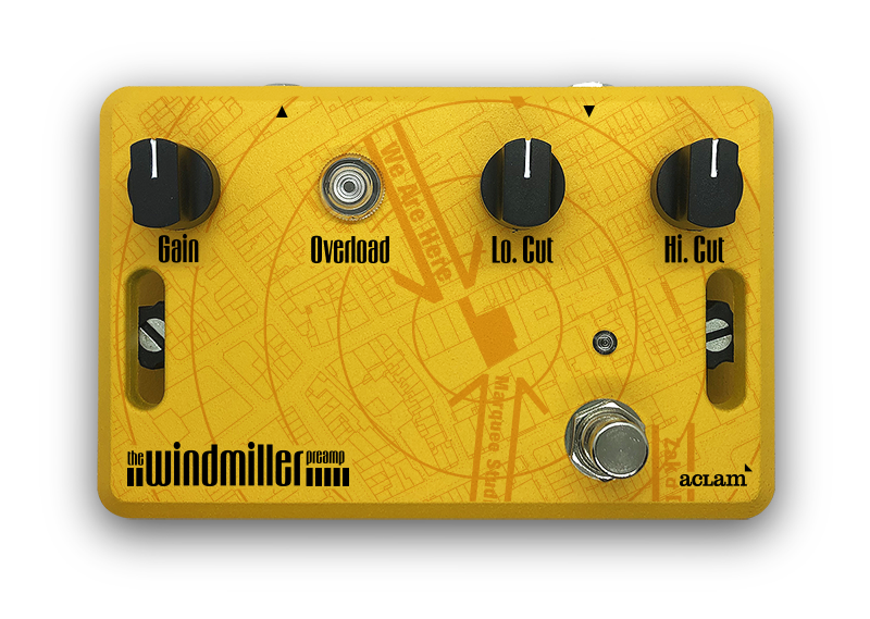 The Windmiller Preamp pedal