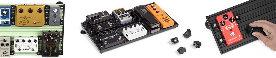 no velcro pedalboard, alternative smart track by aclam guitars
